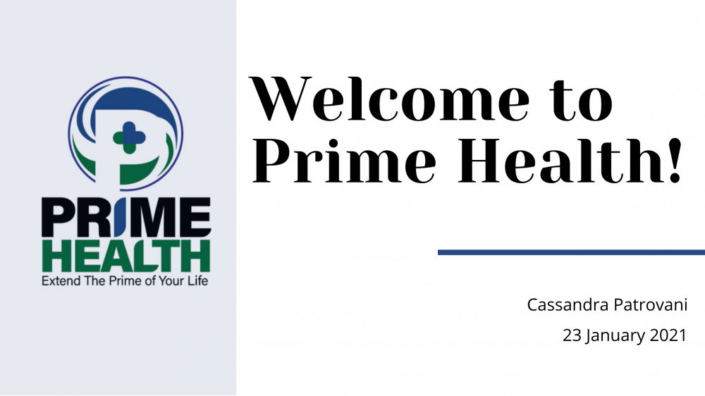 Welcome to Prime Health